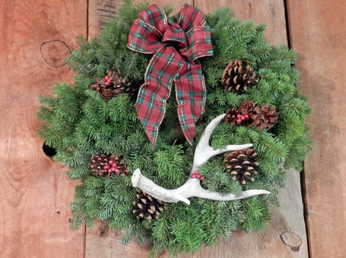 Holiday Wreaths Evergreen Wreath